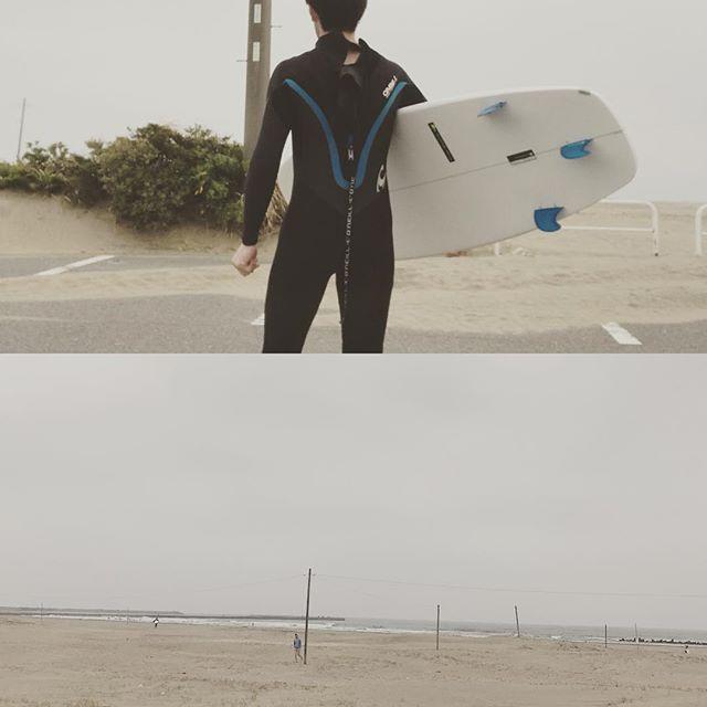 今年初の海 4か月ぶり筋肉痛 以外に 乗れたかな〜#サーフィン#片貝#ルインズ31#都賀#ヘアーサロン#顔そり